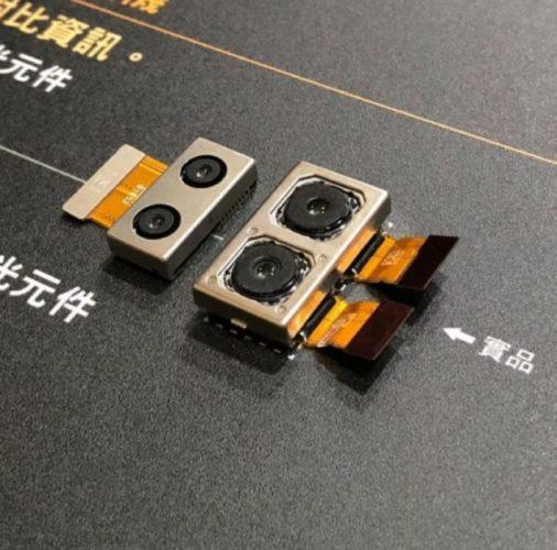 Sony Xperia XZ3 cameramodule
