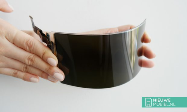 Samsung flexible OLED panel