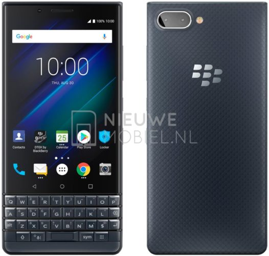 BlackBerry Key2 LE Blue