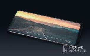 Samsung Galaxy F display landscape
