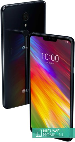 LG G7 Fit in New Aurora Black