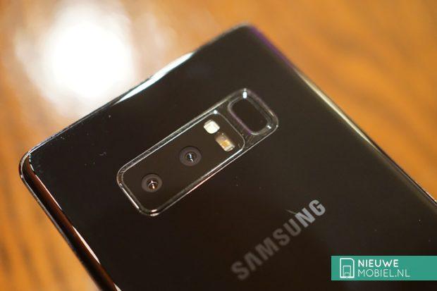 Samsung Galaxy Note8 camera's