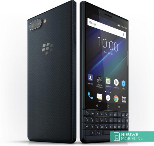 BlackBerry KEY2 LE in de kleur Slate