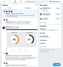 Twitter doet momenteel A/B test voor nieuw design webversie