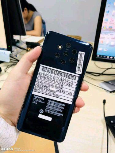 Nokia 9 met penta-camera
