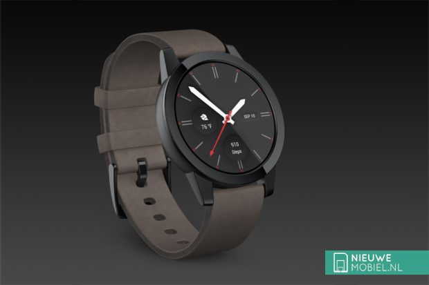 Artist impression van Qualcomm Snapdragon Wear 3100 horloge