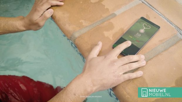 Qualcomm ultrasone vingerafdrukscanner