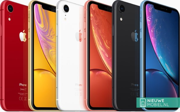 Apple iPhone XR kleuruitvoeringen