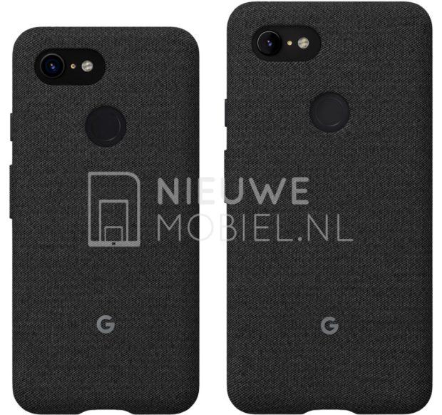 Google Pixel 3 en Pixel 3 XL achterkant