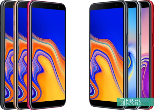 Samsung Galaxy J4+ en J6+