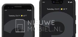 Exclusief: Officiële persrenders tonen Google Pixel 3 en 3 XL