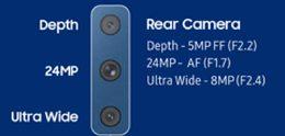 Samsung introduceert Galaxy A7 (2018) met triple lens camera
