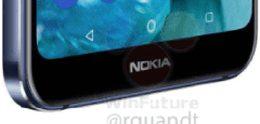 Nokia 7.1 met dubbele Zeiss-camera laat volledige gezicht zien