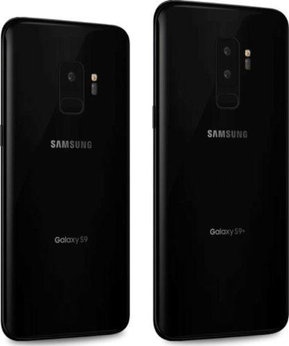 Samsung Galaxy S9 en S9+ render