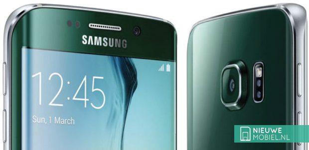 Samsung Galaxy S6 edge in Green Emerald