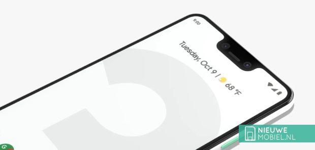 Google Pixel 3 XL scherm