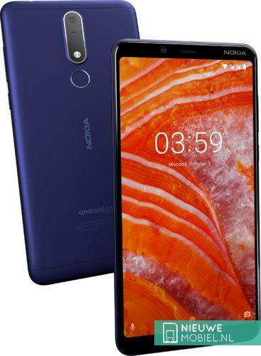 Nokia 3.1 Plus in Blauw