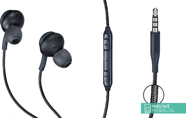 Samsung koptelefoon met geluid van AKG
