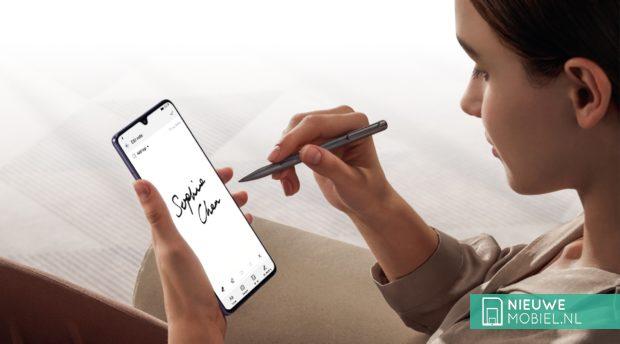 Huawei Mate 20 X met M-Pen