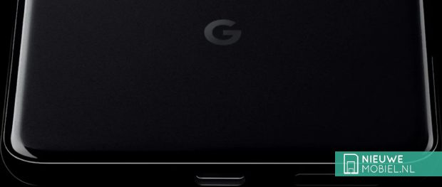 Zwarte Google Pixel