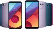 LG geeft G6 en Q6 extra set kleuren