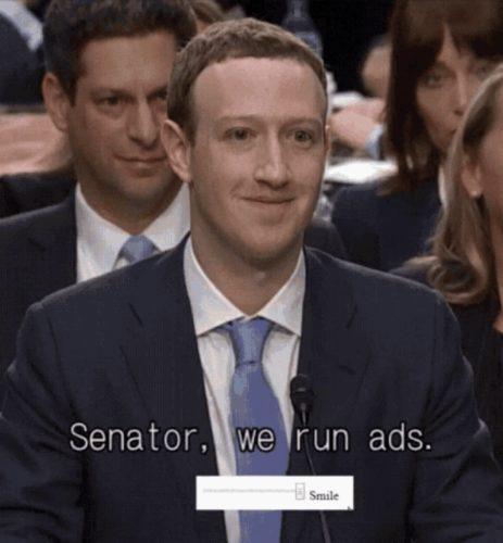 Mark Zuckerberg Facebook meme