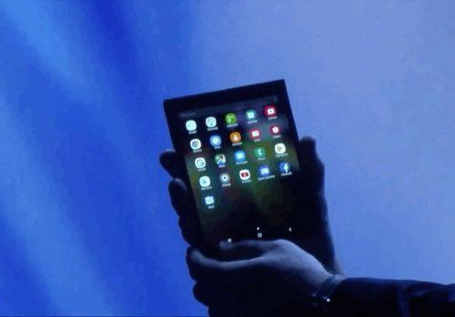 Wat vinden jullie van Samsung's opvouwbare telefoon?