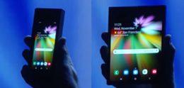 Samsung toont opvouwbare telefoon met Infinity Flex Display