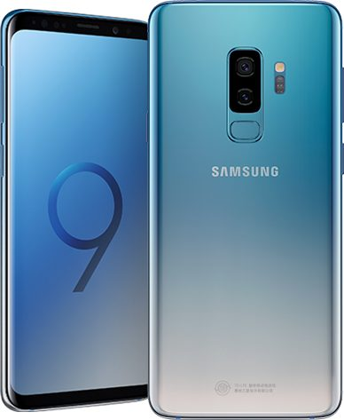 Samsung S9+ in Ice Blue