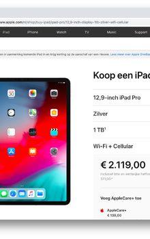 Iemand een iPad kopen van ruim 2000 euro? En dan niet eens volwaardig macOS of multi-user ondersteuning #waanzin