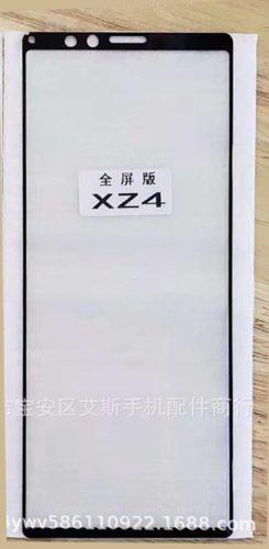 Sony Xperia XZ4 screenpanel