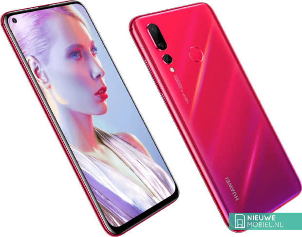 Huawei nova 4 in rood