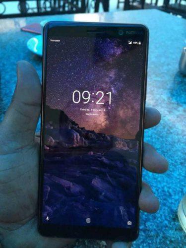 Nokia 7+ in het echt