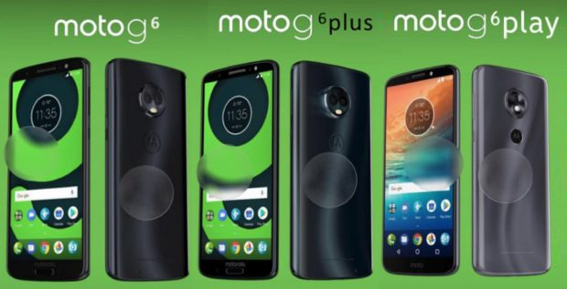 Motorola Moto G6, G6+ en G6 Play