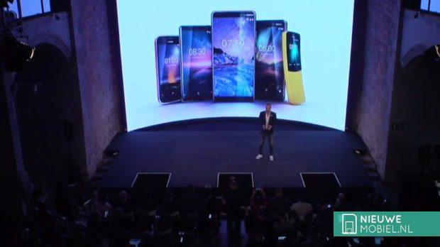Nokia MWC 2018 line-up