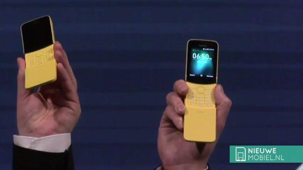 Nokia herlanceert banaanvormige 8110 4G