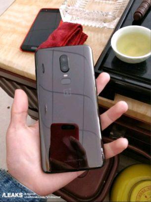 OnePlus 6 achterkant
