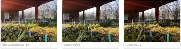 DxOMark Samsung Galaxy S9, iPhone X en Pixel 2