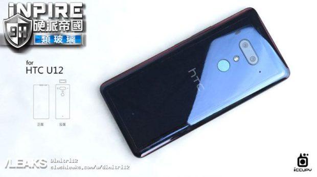 HTC U12 achterkant