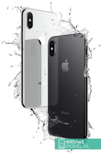 Apple iPhone X waterproof