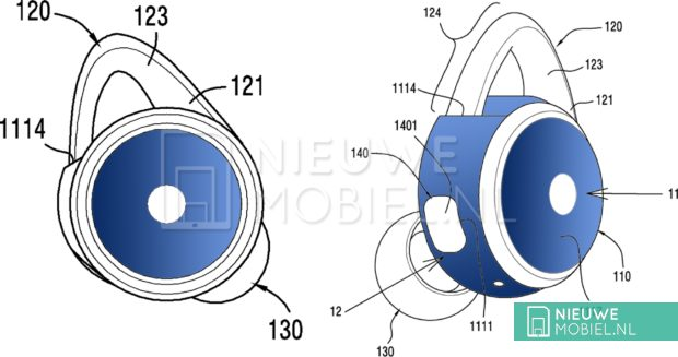 Samsung Buds patent