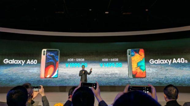 Samsung Galaxy A60 en A40s