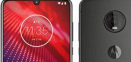 Render Motorola Moto Z4 laat alles zien wat je wilt weten