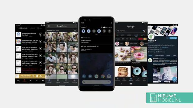 Android Q Dark Theme