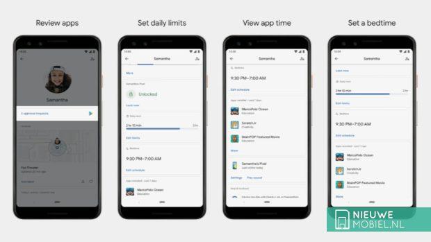 Android Q Ouderlijk toezicht