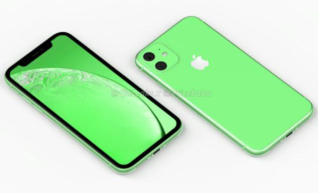 Groene iPhone X11R