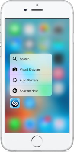 Apple 3D Touch; Quick Actions