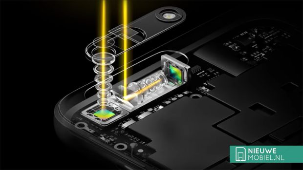 Oppo smartphone with 5x optical zoom