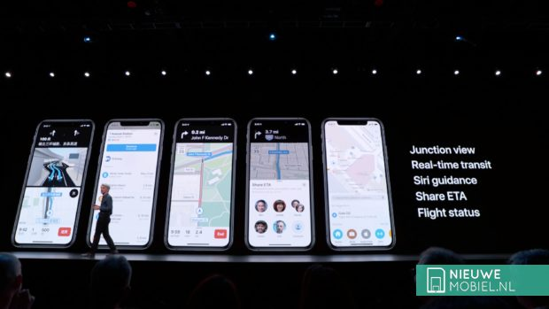 Apple Maps in iOS13