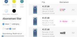 NieuweMobiel.NL maakt zoeken op kleur en opslag overzichtelijker